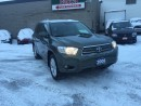 Used 2008 Toyota Highlander TOYOT HIGHLANDER AWD NAVIG LEATHER AUTO CERTIFIED for sale in London, ON