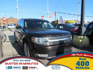 Used 2014 Ford Flex SEL | AWD | HEATED SEATS | CAM for sale in London, ON
