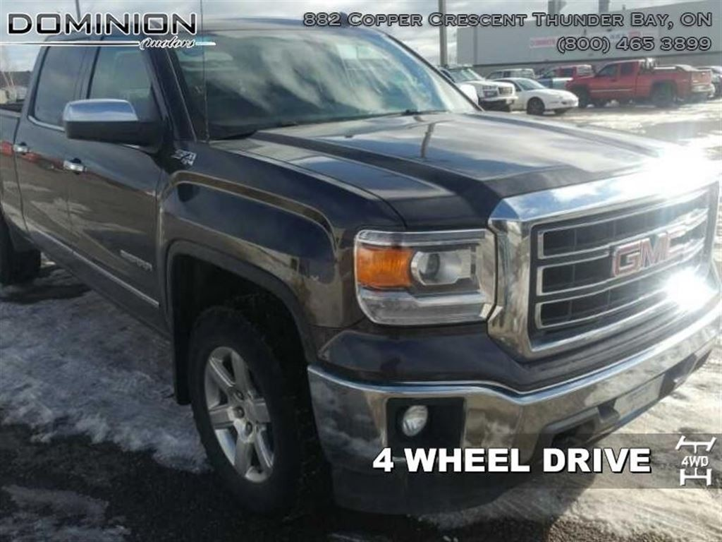Used 2014 gmc sierra 1500 slt for sale in thunder bay Dominion motors thunder bay