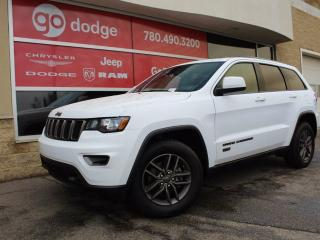 Used 2017 Jeep Grand Cherokee Laredo 75th Anniversary / Sunroof / Back Up Camera for sale in Edmonton, AB
