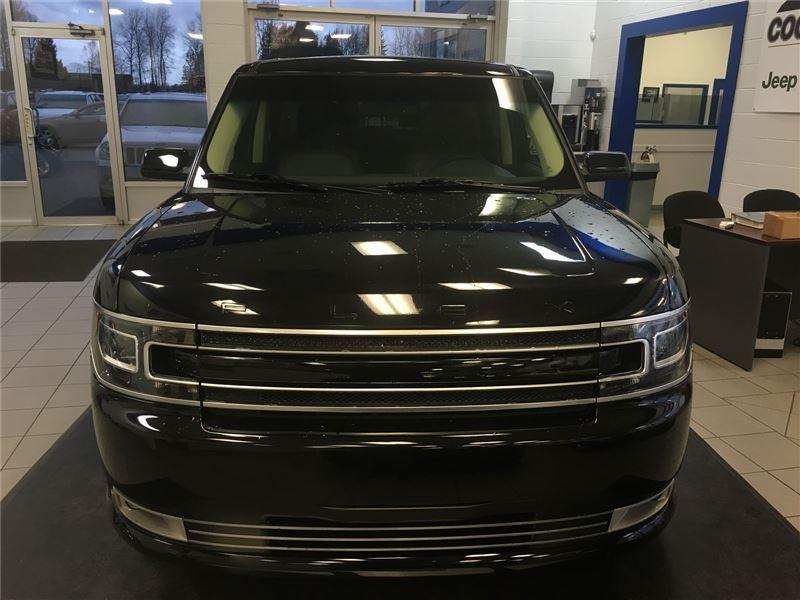 used 2016 ford flex limited for sale in coquitlam british columbia. Black Bedroom Furniture Sets. Home Design Ideas
