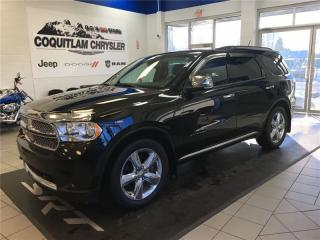 Used 2012 Dodge Durango Citadel for sale in Coquitlam, BC