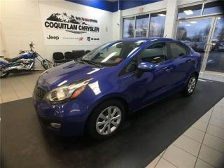 Used 2013 Kia Rio LX for sale in Coquitlam, BC