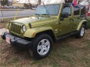 Used 2007 Jeep Wrangler Unlimited Sahara for sale in Burlington, ON