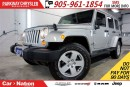Used 2012 Jeep Wrangler Unlimited SAHARA  LEATHER  DUAL TOP  NAV  REMOTE START  for sale in Mississauga, ON