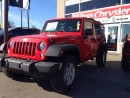 Used 2016 Jeep Wrangler Unlimited SPORT 4X4 4 DOOR for sale in Milton, ON