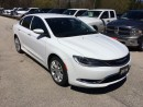 Used 2016 Chrysler 200 LIMITED~SAT RADIO~BT~BACKUP CAM~HTD SEATS~A/C~KEYL for sale in Owen Sound, ON