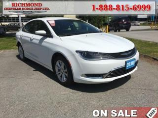 Used 2016 Chrysler 200 Limited for sale in Richmond, BC
