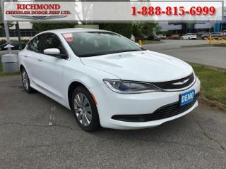 Used 2016 Chrysler 200 LX for sale in Richmond, BC