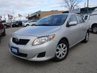 Used 2009 Toyota Corolla CE - Convenience Package for sale in St Catharines, ON