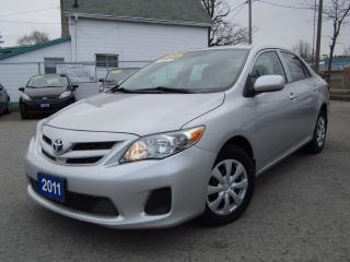 Used 2011 Toyota Corolla CE WITH CONVENIENCE PACKAGE for sale in St Catharines, ON