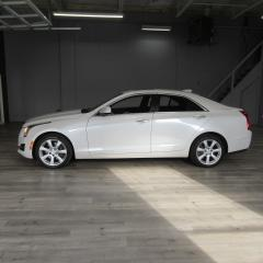 Used 2015 Cadillac ATS ALL WHEEL DRIVE / LEATHER / SUNROOF / PUSH TO START for sale in Oakville, ON