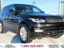 Used 2015 Land Rover Range Rover Sport V6 HSE - CPO 6yr/160000kms manufacturer warranty included until March 30, 2021! CPO rates starting at 2.9%! LOCAL ONE OWNER TRADE IN   NO ACCIDENTS   3M PROTECTION APPLIED   NAVIGATION   BACK UP CAMERA   PARKING SENSORS   REVERSE TRAFFIC/BLIND SPOT/ for sale in Edmonton, AB
