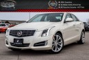 Used 2014 Cadillac ATS Performance AWD|Navi|Sunroof|Backup Cam|Bluetooth|Leather|Heated Front Seats|R-Start|17