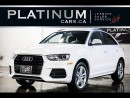 Used 2016 Audi Q3 2.0T Premium+, PANO, for sale in North York, ON