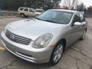 Used 2003 Infiniti G35 Luxury for sale in Scarborough, ON