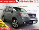 Used 2012 Honda Pilot EX-L| LEATHER| SUNROOF| BACK UP CAMERA| 4X4| for sale in Burlington, ON