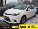 Used 2016 Toyota Corolla LE/LOW,LOW KMS!/INVENTORY CLEAROUT/PRICED FOR A Q for sale in Kitchener, ON