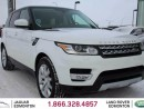 Used 2014 Land Rover Range Rover Sport V8 Supercharged - CPO 6yr/160000kms manufacturer warranty included until January 17, 2020! CPO rates starting at 1.9%! LOCAL ONE OWNER TRADE IN   NO ACCIDENTS   NAVIGATION   SURROUND CAMERA SYSTEM   PARK ASSIST   PARKING SENSORS   REVERSE TRAFFIC/BL for sale in Edmonton, AB