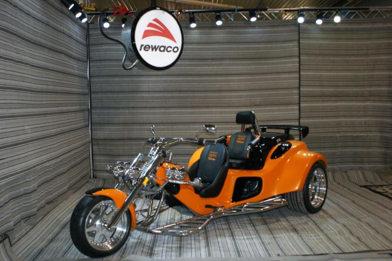 2017 Rewaco RF-2 GT Tourback Turbo Trike