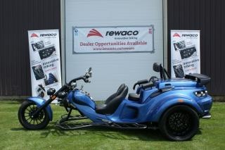 Used 2017 Rewaco RF-2 GT Tourback Turbo Trike Black Line Edition for sale in Jarvis, ON