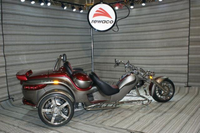 2017 Rewaco RF2 LT-2 Tourback Turbo Trike