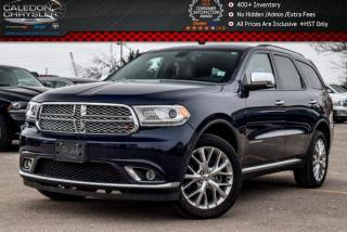 Used 2015 Dodge Durango Citadel|AWD|6Seater|Navi|Sunroof|Backup Cam|Bluetooth|R-Start|20