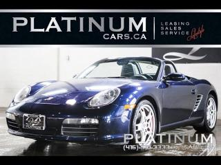 Used 2005 Porsche Boxster S, CONVERTIBLE, LEATHER, SPORTS SEATS for sale in North York, ON