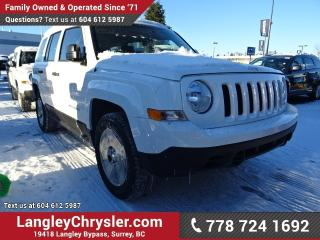 New 2017 Jeep Patriot Sport/North Sport for sale in Surrey, BC