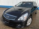 Used 2012 Infiniti G37X  AWD *LEATHER-SUNROOF* for sale in Kitchener, ON