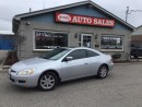 Used 2003 Honda Accord EXL for sale in London, ON