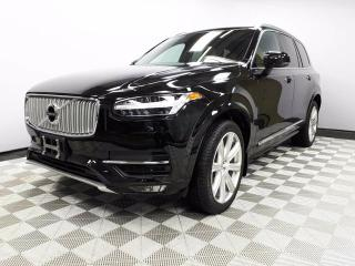 Used 2017 Volvo XC90 T6 Inscription - Local One Owner Trade In | No Accidents | 3M Protection Applied | Leather Interior | Seats 7 | Heated/Cooled Front Seats | Heated Rear Seats | Heated Steering Wheel | Multi Zone Climate Control with AC | Power Liftgate | Panoramic Sunroof for sale in Edmonton, AB