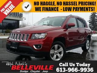 Used 2016 Jeep Compass High Altitude-Sunroof, Heated Seats for sale in Belleville, ON