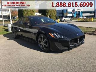Used 2014 Maserati GranTurismo - Low Mileage for sale in Richmond, BC