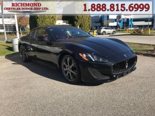Used 2014 Maserati GranTurismo - Low Mileage for sale in Richmond, BC