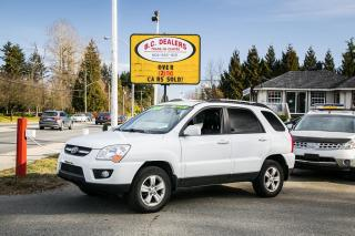 Used 2010 Kia Sportage LX-Luxury AWD, Leather, Local, No Accid, Sunroof! for sale in Surrey, BC
