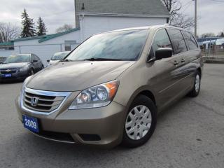 Used 2009 Honda Odyssey LX 8 PASSENGER LOADED for sale in St Catharines, ON