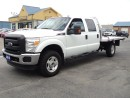 Used 2015 Ford F-350 XLT CrewCab&Chassis 4X4 FlatBed for sale in Brantford, ON