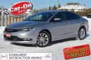 Used 2015 Chrysler 200 200 S V6 AWD only 8,000KM NAVIGATION for sale in Ottawa, ON