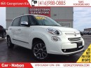 Used 2015 Fiat 500 L LOUNGE NAVI | PANO ROOF | BACKUP CAM | ALLOY WHEEL for sale in Georgetown, ON