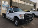 Used 2012 Ford F-350 XL Crew Cab Flat Bed 9.4' Deck 4X4 Gas for sale in North York, ON
