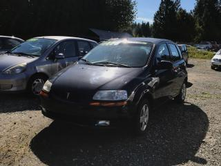 Used 2006 Pontiac Wave LT, Local, No Accidents, Full PWR Options, AC! for sale in Surrey, BC