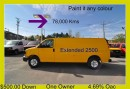 Used 2012 Chevrolet Express 2500 CHEVROLET EXPRESS 2500 EXTENDED for sale in Aurora, ON