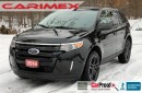 Used 2014 Ford Edge SEL   NAVIGATION + Leather + Sunroof for sale in Waterloo, ON