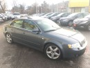 Used 2003 Audi A4 3.0L/AWD/AUTOAIR/LEATHER/ROOF/LOADED/ALLOYS for sale in Scarborough, ON