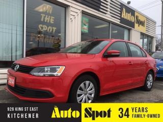 Used 2014 Volkswagen Jetta Trendline+/PRICED FOR A QUICK SALE for sale in Kitchener, ON