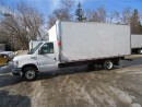 Used 2013 Ford E450 18 ft gas cube van with high box for sale in Richmond Hill, ON