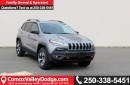 New 2017 Jeep Cherokee Trailhawk JEEP TRAILHAWK 4x4, HANDS-FREE/NAV READY/ BACK UP CAMERA for sale in Courtenay, BC