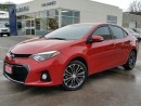 Used 2014 Toyota Corolla S 6spd w/AM keyless remote start for sale in Kitchener, ON