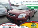 Used 2009 Kia Sportage LX * CAR LOANS THAT FIT YOUR BUDGET for sale in London, ON